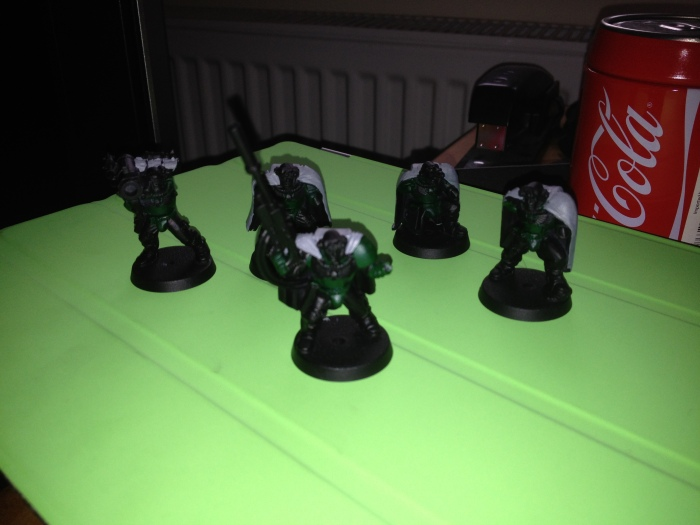 Saturday night project - finish my scouts!